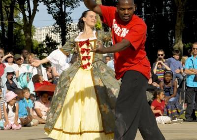 Hip-Hop'ment Baroque à la fête de la ville d'Asnières-sur-Seine