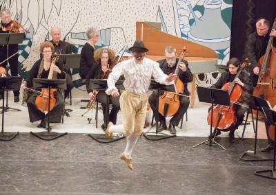 Concert dansé